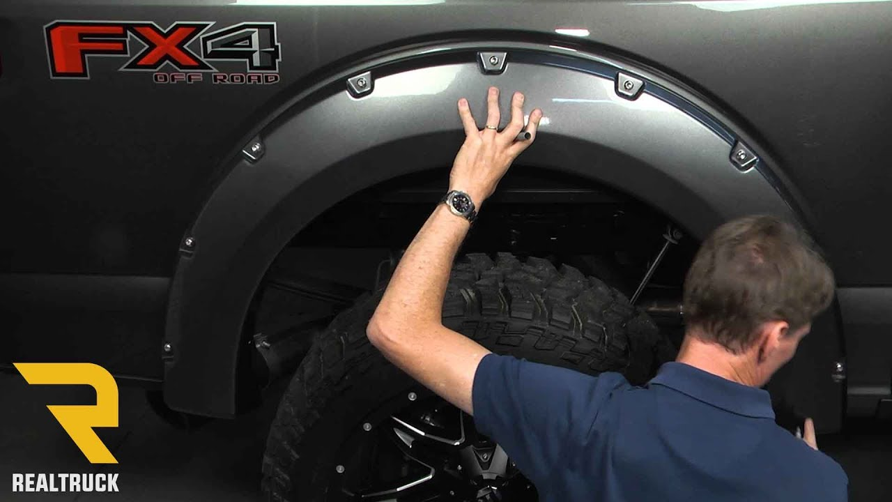 How to Install Bushwacker Pocket Style Fender Flares on a ...