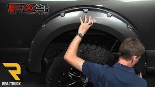 Як встановити Bushwacker кишеню стиль розширювачі колісних арок на 2015 Форд F-150