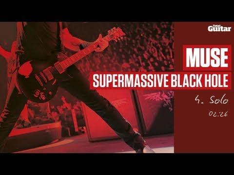 Guitar Lesson: Muse 'Supermassive Black Hole' -- Part Four -- Solo (TG215)