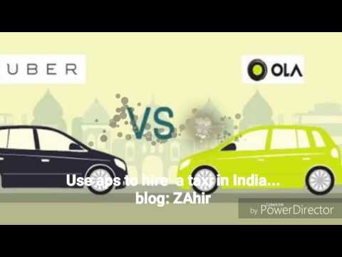 Online taxi aps in india uber & ola bangla