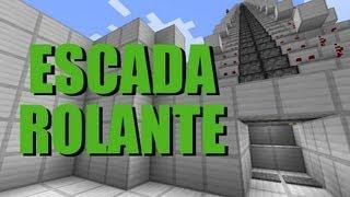 Escada rolante super rápida -  Minecraft Tutorial 20