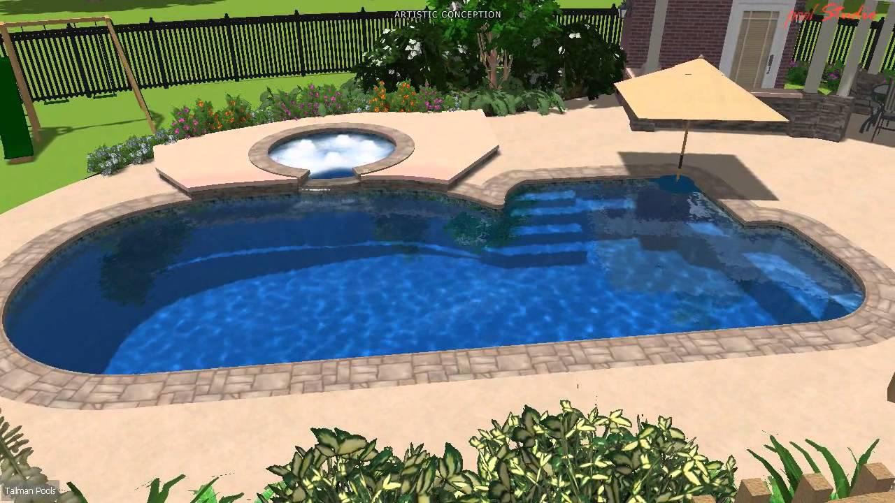 Tallman Pools 16x36 Key Largo Youtube