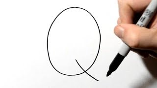 How to Draw a Quail After Writing Letter Q - LetterToons
