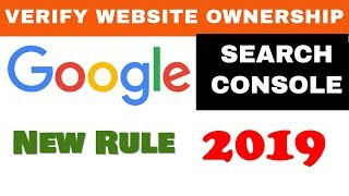 How to add website to Google Search Console in 2019