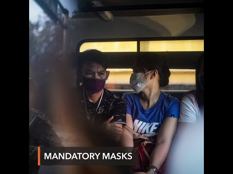 Luzon residents now required to wear face masks when leaving homes