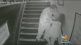Video Shows Man Attacking Woman In Santa Ana Stairwell