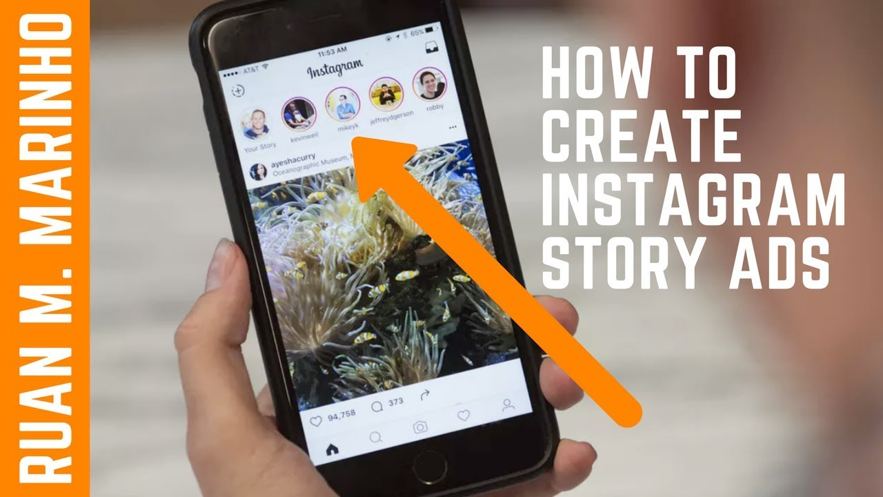 how to create instagram story ads