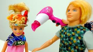 Салон красоты. Куклы Барби и игры для девочек