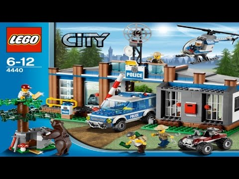 Lego City Forest Police Station Instructions