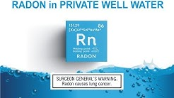 Radon in Private Well Water