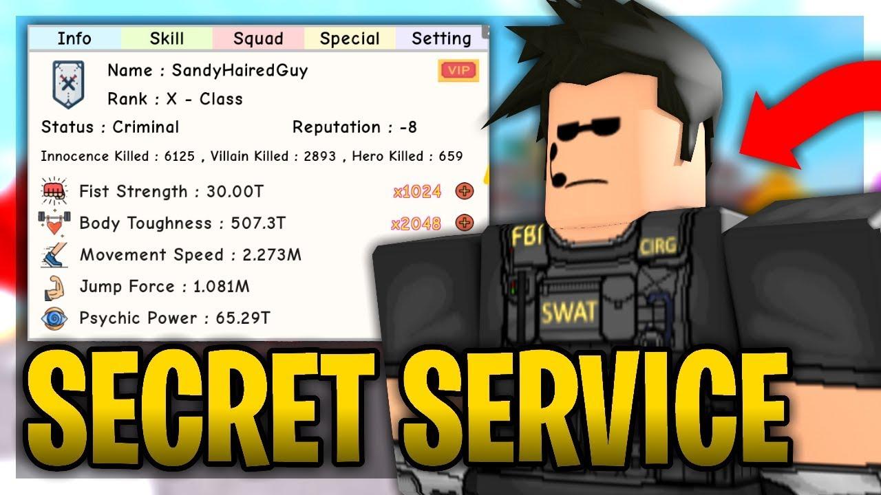 Roblox Secret Power Simulator - 0425