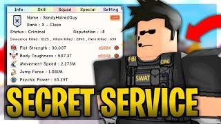 Roblox Super Power Training Simulator Secret Service Trolling