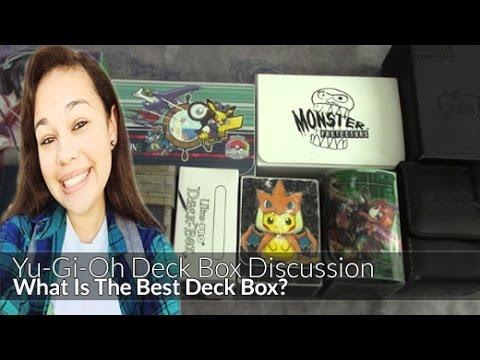 What Is The BEST Yu-Gi-Oh Deck Box? (StarstrikeDuelistX)