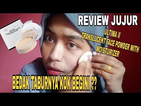 VIRAL !!! REVIEW JUJUR BEDAK TABUR ULTIMA II  DELICATE TRANSLUCENT FACE POWDER WITH MOISTURIZER