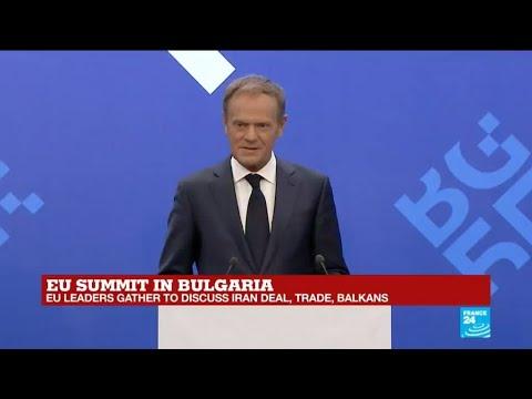REPLAY - EU Council President Donald Tusk delivers speech