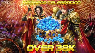 Legendary - Game of Heroes invest over 38k Gems to start New Year Celebration Deck screenshot 2