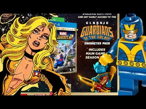 LEGO Marvel Superheroes 2 Classic GOTG Season Pass DLC & Giant Man ...