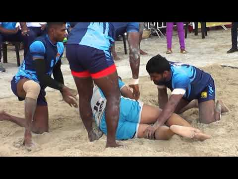Sri Lanka Vs Mauritius - Part 1 (International Beach Kabaddi Meet, Mauritius 2017)