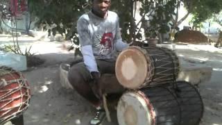 West African Drumming - Triba - Dun Dun Part