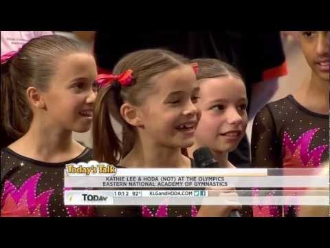 OLIVIA - 9 - & JR. GYMNASTS FOR 2,020 OLYMPICS - INTERVIEW - 2,012