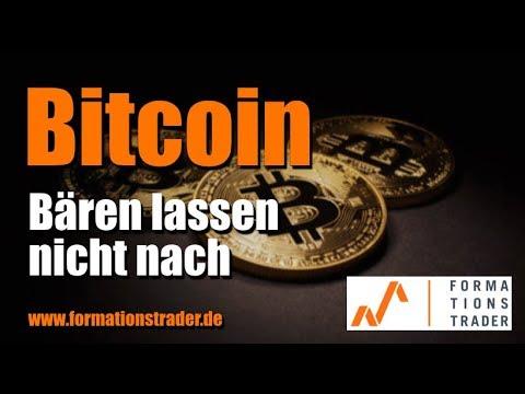 Bitcoin: Bären lassen nicht nach