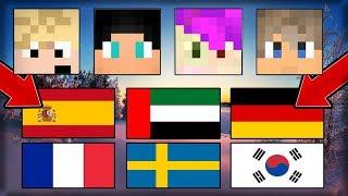 NAPODOBŇUJEME JAZYKY #2 ! - Prízvuk/Jazyk - Language CHALLENGE! - Minecraft
