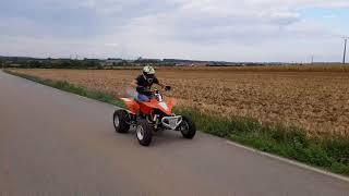YFZ 450 moteur 700 Zabel premier test