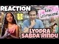 REACTION Lyodra - Sabda Rindu   Calon DIVA Internasional !!!!