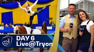 Halftime at #Tryon2018 - Vaulting about to start | Day 6 - Your daily show w/ Ayden & Nick! thumbnail