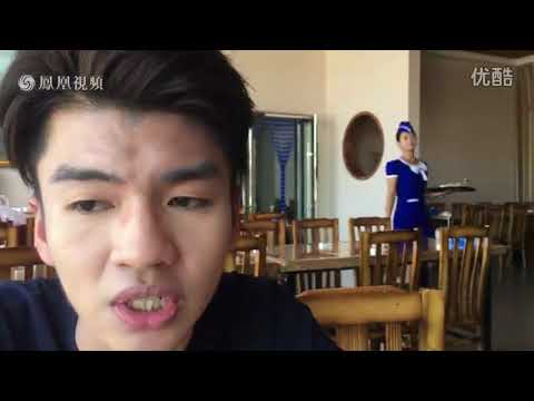 Chinese TV host rates North Korean cold noodles in Sinuiju tourist restaurant