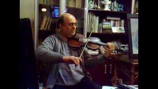 Violin Irani, ویلن ایرانی ، مخالف سه گاه ، استاد اسدزاده