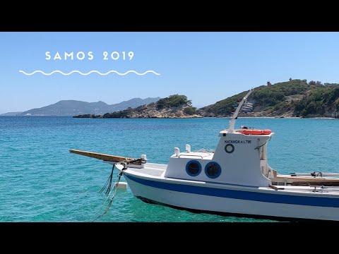 Samos summer holiday 2019, the most beautiful Greek island