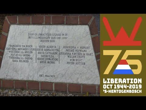 75 jaar bevrijding 's-Hertogenbosch - Herdenking Engelen