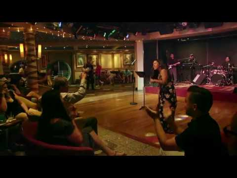 Cayla's performance of Uptown Funk at the Norwegian Sky Cruise's band karaoke night 8.20.2017