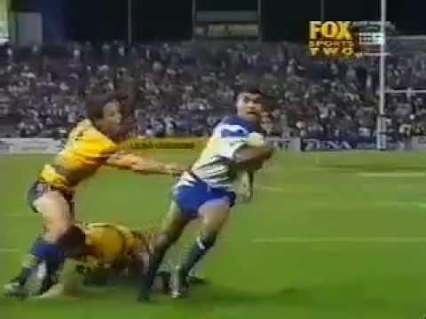 Rod Silva Try 1999 Rd15 Canterbury v Parramatta