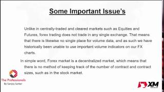 Forex Webinar-Trading Based on Volume and Price