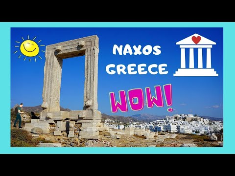 GREECE, the ancient (6th century BC) TEMPLE of APOLLO, island of NAXOS