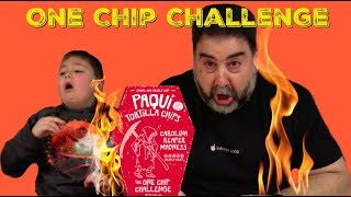 One Chip Challenge from Paqui Chips. Worlds Hottest Chip!