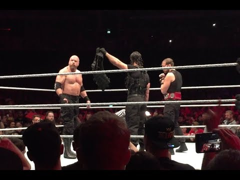 Download Triple H Joins The Shield at WWE Glasgow!