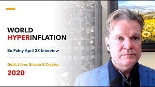 WORLD HYPERINFLATION | Gold Silver Bitcoin & Cryptos (Bo Polny)