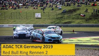 ADAC TCR Germany Rennen 2 Red Bull Ring 2019 Re-Live