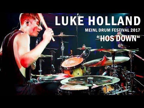 """Meinl Drum Festival – Luke Holland – """"Hos Down"""""""