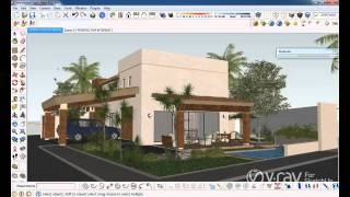V-Ray for SketchUp -  Render to VRImage - tutorial