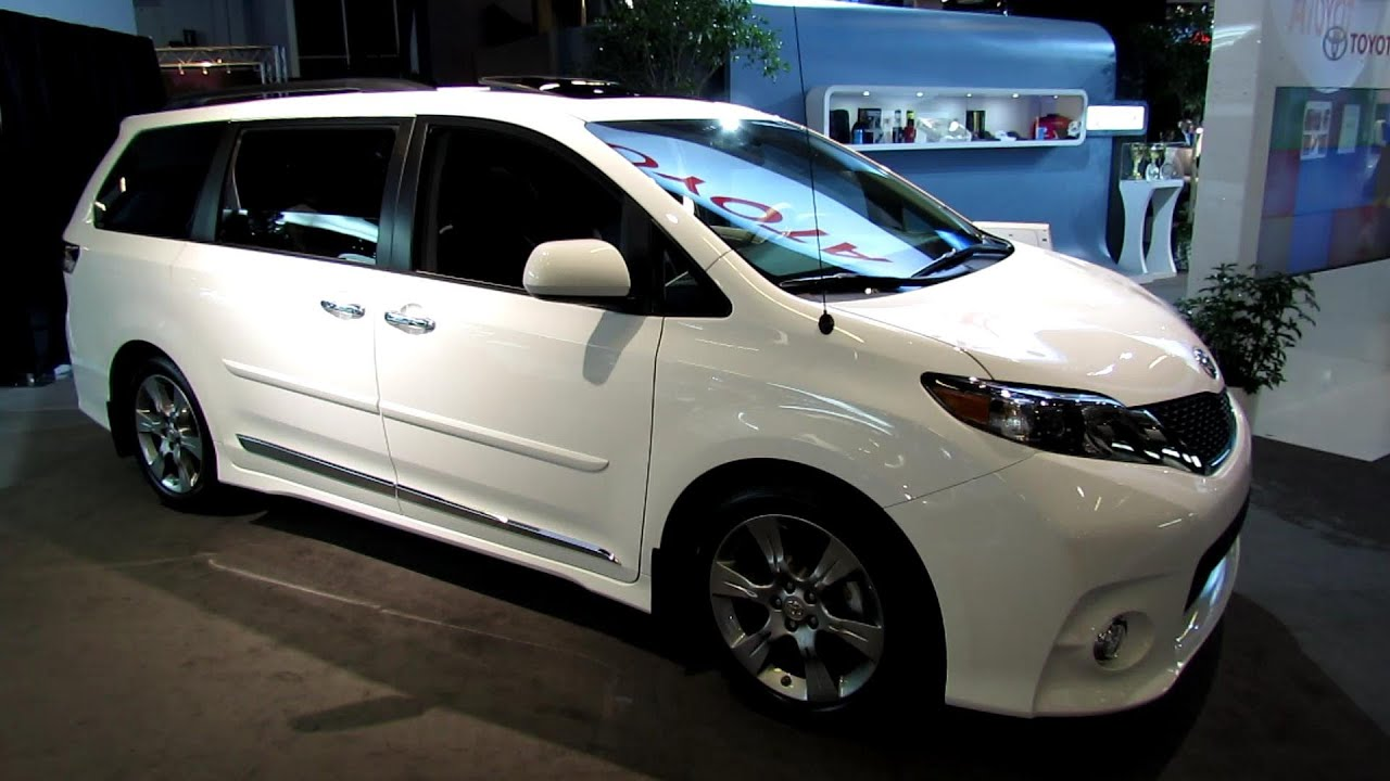 2013 toyota sienna se exterior and interior walkaround. Black Bedroom Furniture Sets. Home Design Ideas