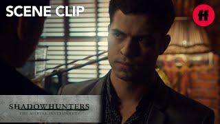 Shadowhunters  Season 3 Episode 1 Raphael Seeks Out Magnus  Freeform