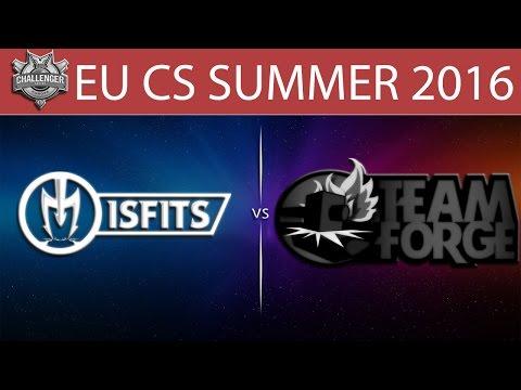 [LoL VODs] MSF vs 4G Game 1 | EU CS Summer 2016 (07.06.2016) - Misfits vs Team Forge