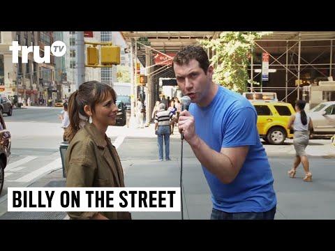 "Billy on the Street - ""Whistle-Blow That Jew!"" with Rashida Jones"