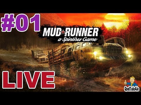 Spintires: MudRunner - Gameplay ITA - LIVE #01 - Missioni single player