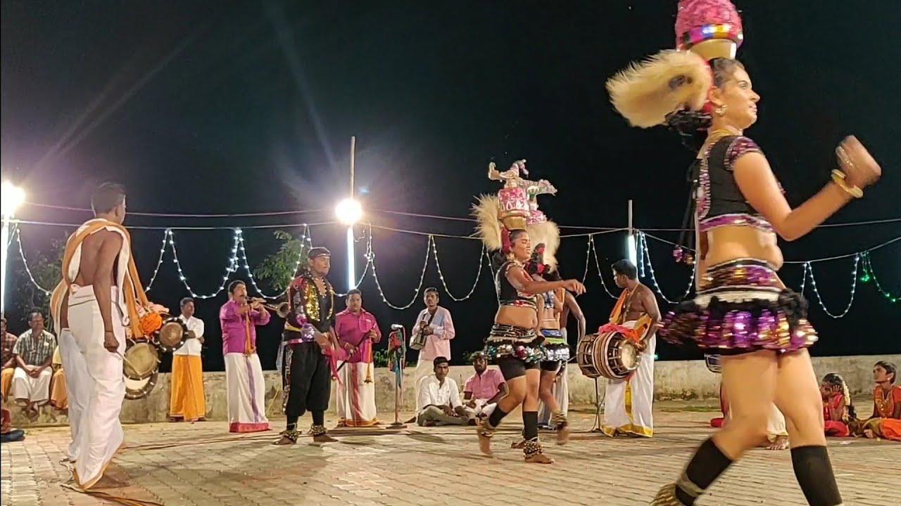 Tamil village karakattam hot double meaning Dancing