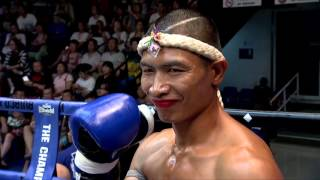 The Champion มวยไทยตัดเชือก Full Fight 26 December 2015